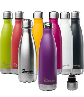 BOUTEILLE ISOTHERME 500ml Qwetch